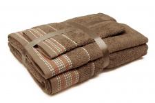 """Trijų rankšluosčių komplektas """"Light Brown"""""""