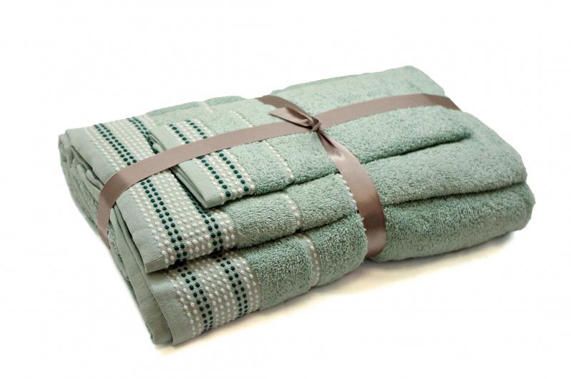 "Trijų rankšluosčių komplektas ""Mint"""